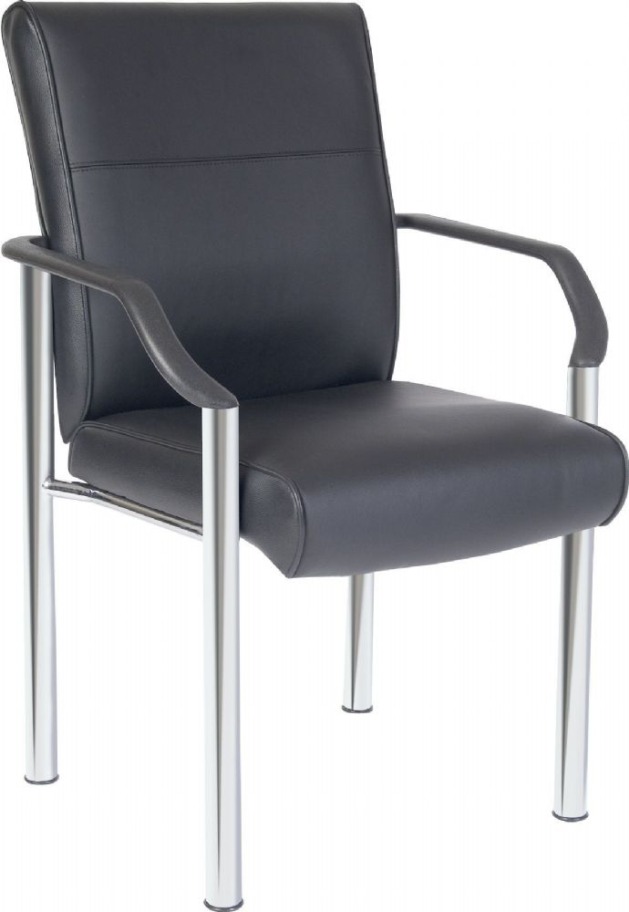 TEKNIK GREENWICH Leather Faced 4 Legged Chair
